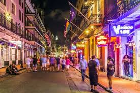 french quarter at night